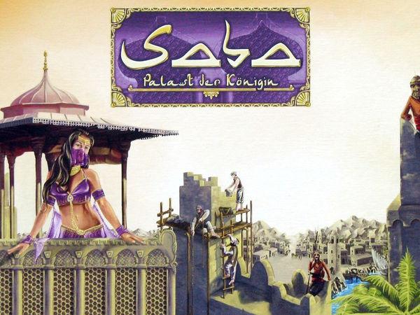Bild zu Alle Brettspiele-Spiel Saba - Palast der Königin