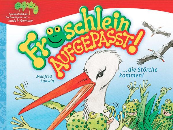 Bild zu Alle Brettspiele-Spiel Fröschlein aufgepasst!