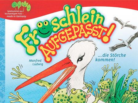 Fröschlein aufgepasst!