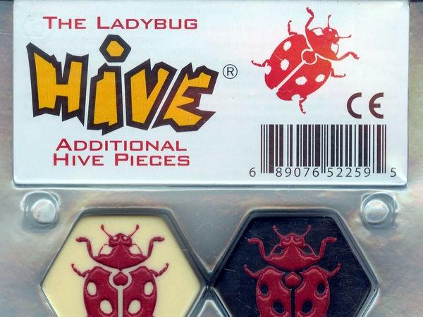 Bild zu Alle Brettspiele-Spiel Hive: Marienkäfer
