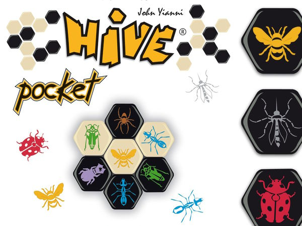 Bild zu Alle Brettspiele-Spiel Hive Pocket