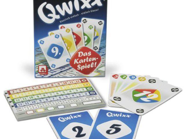 Qwixx: Das Kartenspiel Bild 1