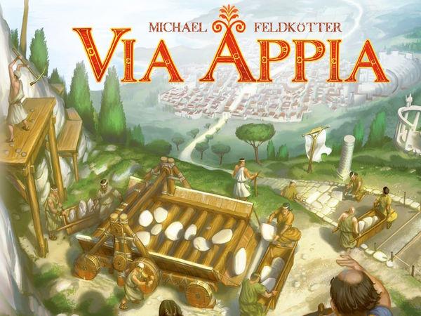 Bild zu Alle Brettspiele-Spiel Via Appia