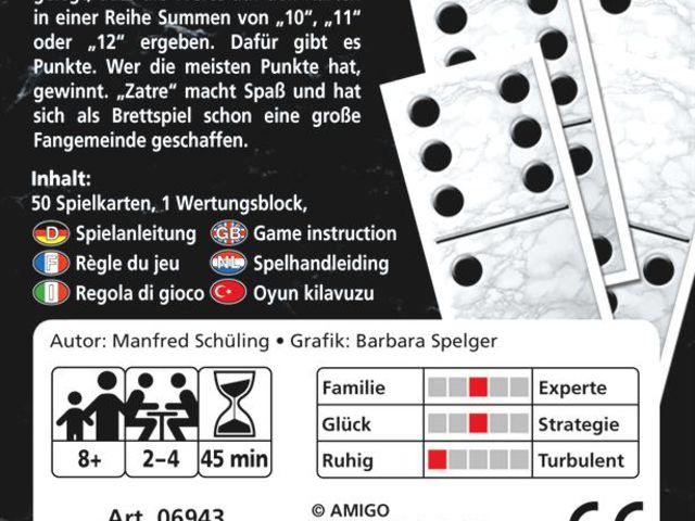 Zatre - Das Kartenspiel Bild 1
