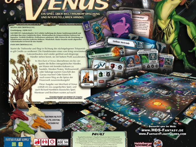 Merchant of Venus: Zweite Edition Bild 1