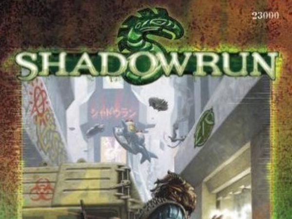 Bild zu Alle Brettspiele-Spiel Shadowrun 4.01D