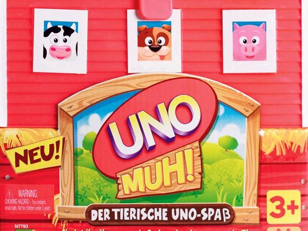 Bild zu Alle Brettspiele-Spiel Uno muh!