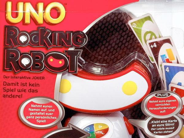 Bild zu Alle Brettspiele-Spiel Uno Rocking Robot