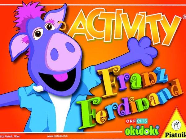 Bild zu Alle Brettspiele-Spiel Activity Franz Ferdinand