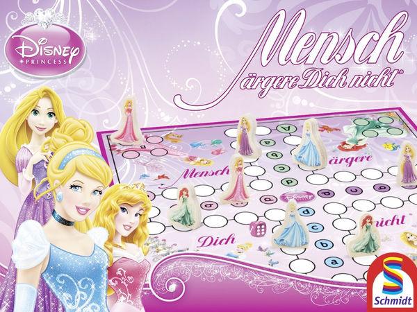 Bild zu Alle Brettspiele-Spiel Mensch ärgere Dich nicht!: Disney, Princess