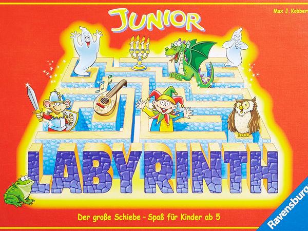 Bild zu Alle Brettspiele-Spiel Junior Labyrinth
