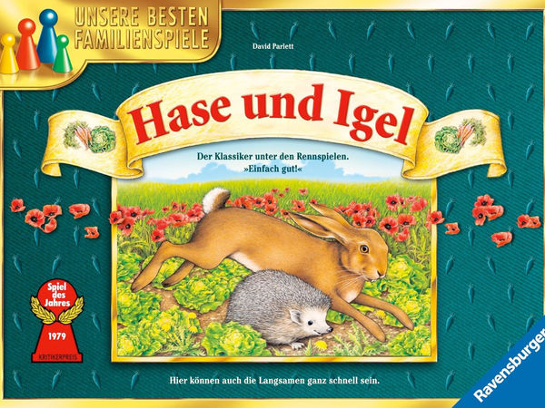 Bild zu Alle Brettspiele-Spiel Hase und Igel