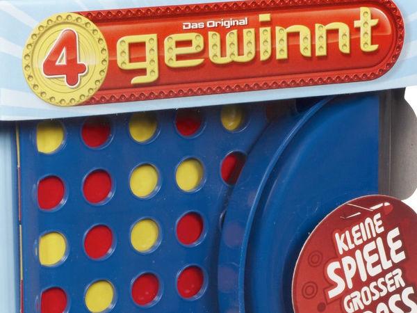 Bild zu Alle Brettspiele-Spiel Vier gewinnt - Reisespiel
