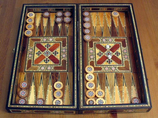 Backgammon Bild 1