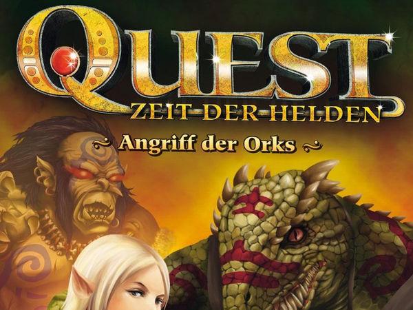 Bild zu Alle Brettspiele-Spiel Quest, Zeit der Helden: Angriff der Orks