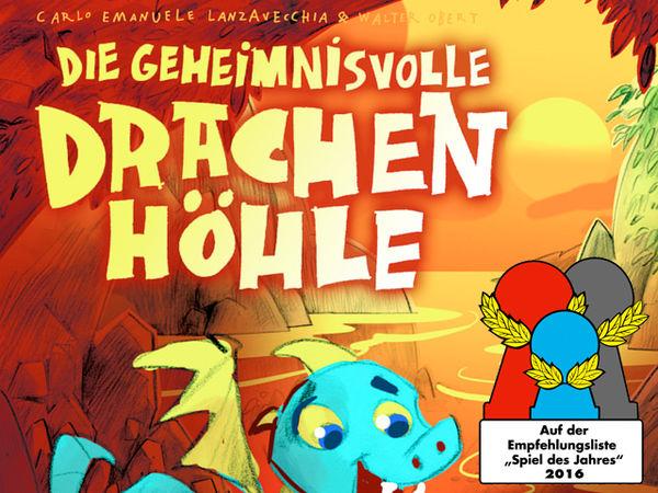 Bild zu Alle Brettspiele-Spiel Die geheimnisvolle Drachenhöhle