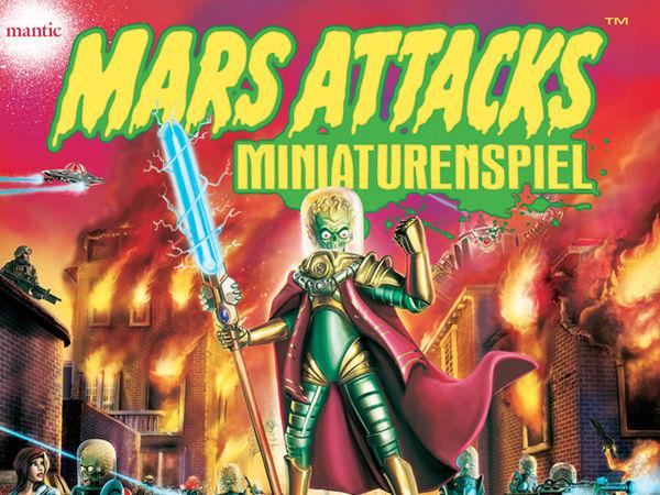 Bild zu Alle Brettspiele-Spiel Mars Attacks: Miniaturenspiel