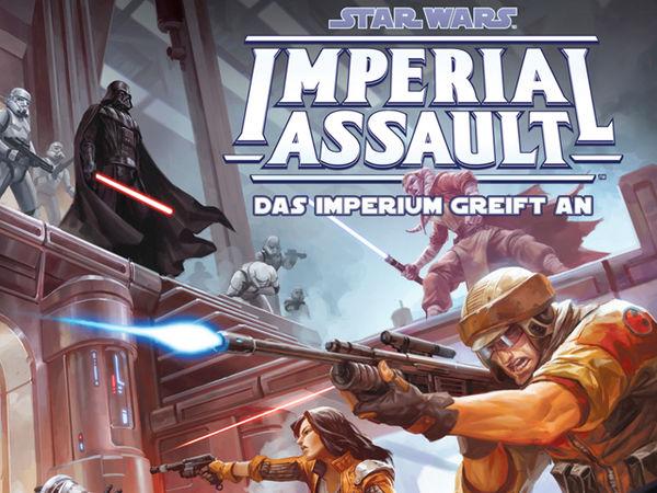 Bild zu Alle Brettspiele-Spiel Star Wars: Imperial Assault – Das Imperium greift an
