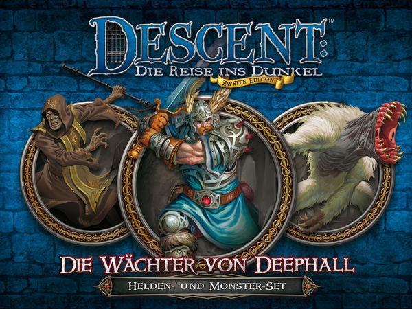 Bild zu Alle Brettspiele-Spiel Descent: Die Reise ins Dunkel - Zweite Edition - Wächter von Deephall: Helden- und Monster-Set