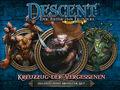 Vorschaubild zu Spiel Descent: Die Reise ins Dunkel - Zweite Edition -  Kreuzzug der Vergessenen: Helden- und Monster-Set