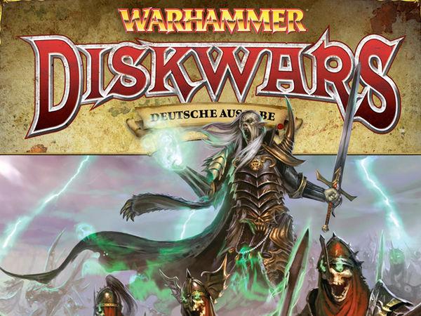 Bild zu Alle Brettspiele-Spiel Warhammer Diskwars: Legionen der Finsternis Erweiterung