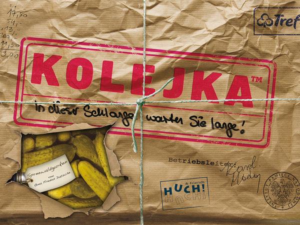 Bild zu Alle Brettspiele-Spiel Kolejka: In dieser Schlange warten Sie lange!
