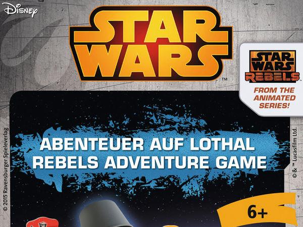 Bild zu Alle Brettspiele-Spiel Star Wars Rebels: Abenteuer auf Lothal