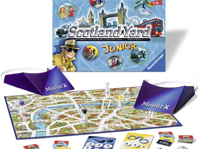 Scotland Yard Junior Bild 1