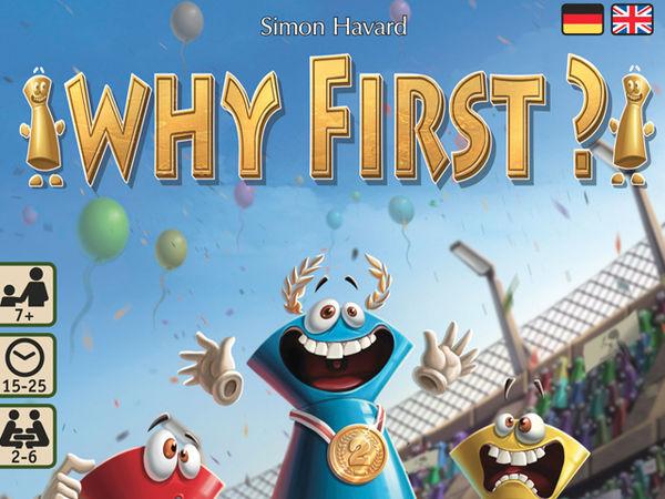 Bild zu Alle Brettspiele-Spiel Why First?