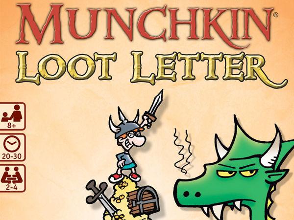 Bild zu Alle Brettspiele-Spiel Munchkin Loot Letter