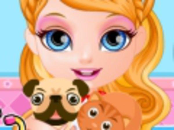 Bild zu Denken-Spiel Baby Barbie Pet Hospital