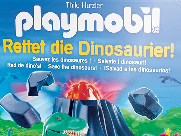 Bild zu Alle Brettspiele-Spiel Playmobil: Rettet die Dinosaurier!