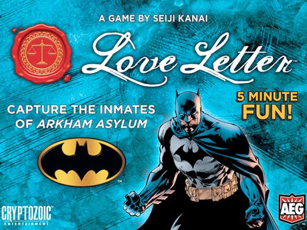 Bild zu Alle Brettspiele-Spiel Love Letter: Batman