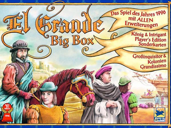 Bild zu Alle Brettspiele-Spiel El Grande: Big Box