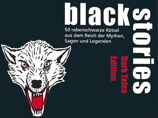 Bild zu Alle Brettspiele-Spiel Black Stories: Dark Tales Edition