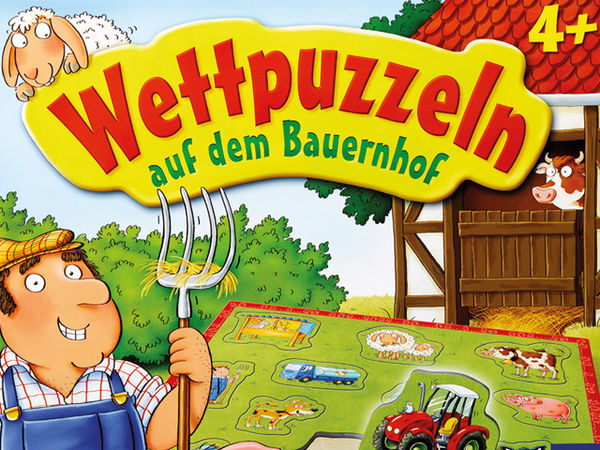 Bild zu Alle Brettspiele-Spiel Wettpuzzeln auf dem Bauernhof