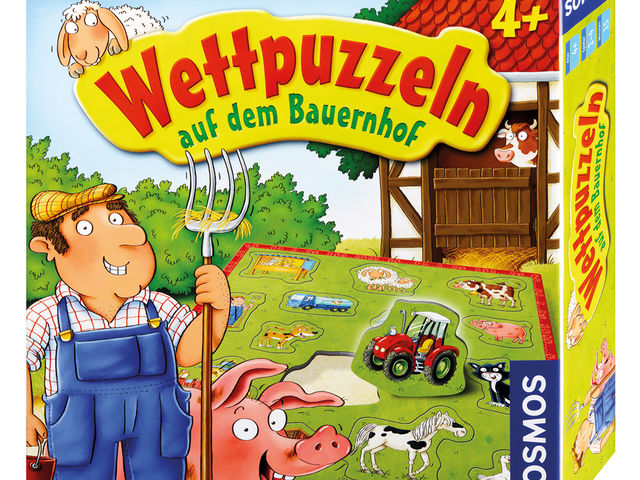 Wettpuzzeln auf dem Bauernhof Bild 1