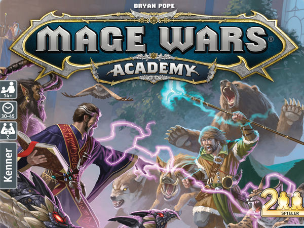 Bild zu Alle Brettspiele-Spiel Mage Wars Academy: Grundspiel - Tiermeister vs Zauberer