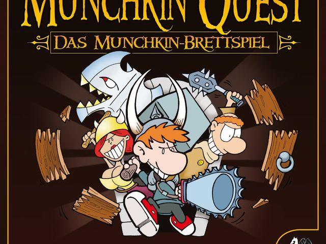 Munchkin Quest: Das Brettspiel Bild 1