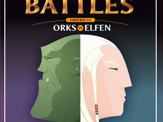 Pocket Battles - Orks vs. Elfen Bild 1