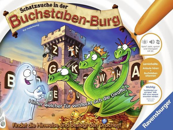 Bild zu Alle Brettspiele-Spiel Schatzsuche in der Buchstaben-Burg