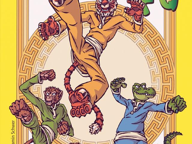Würfel Kung Fu Bild 1