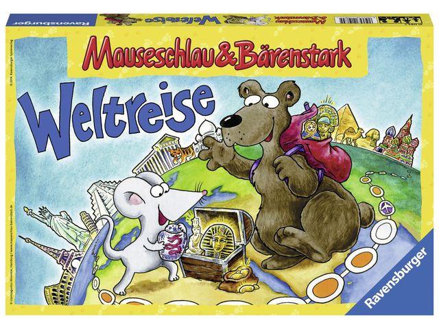 Mauseschlau & Bärenstark - Weltreise Bild 1