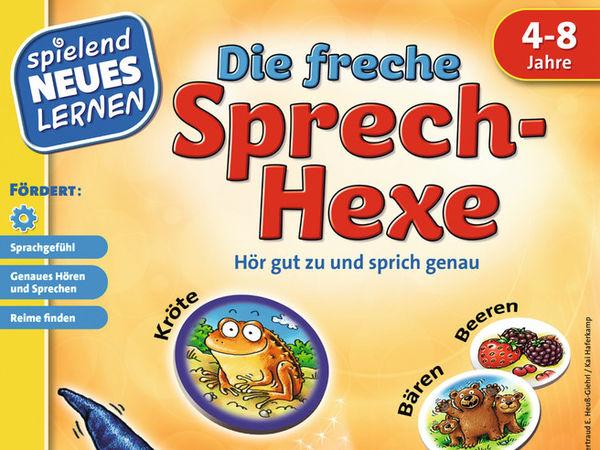 Bild zu Alle Brettspiele-Spiel Die freche Sprechhexe