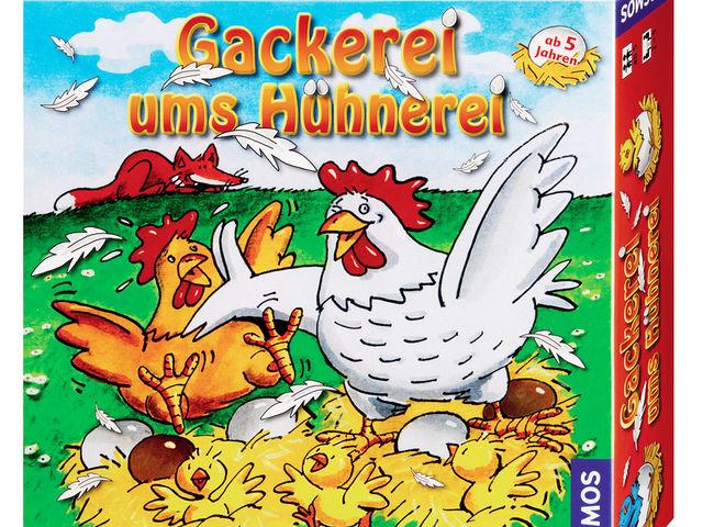 Gackerei ums Hühnerei Bild 1