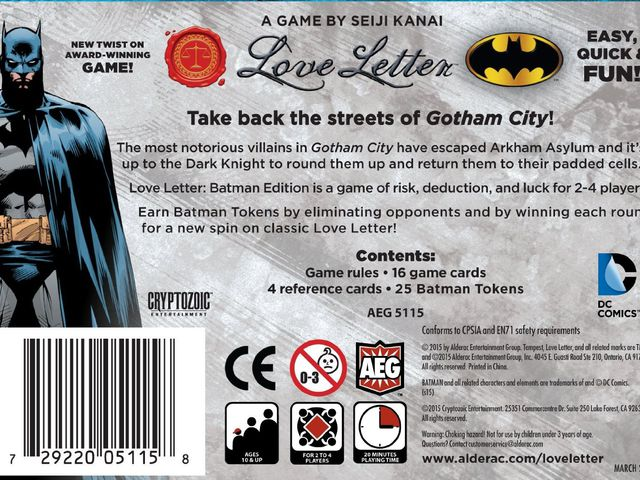 Love Letter: Batman Bild 1