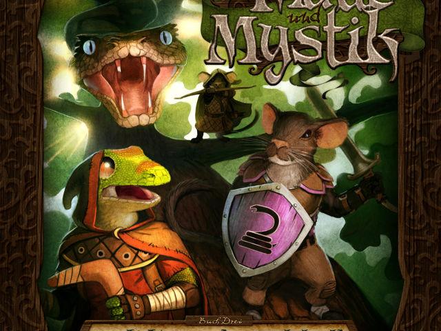 Maus & Mystik: Geschichten aus dem Dunkelwald Bild 1