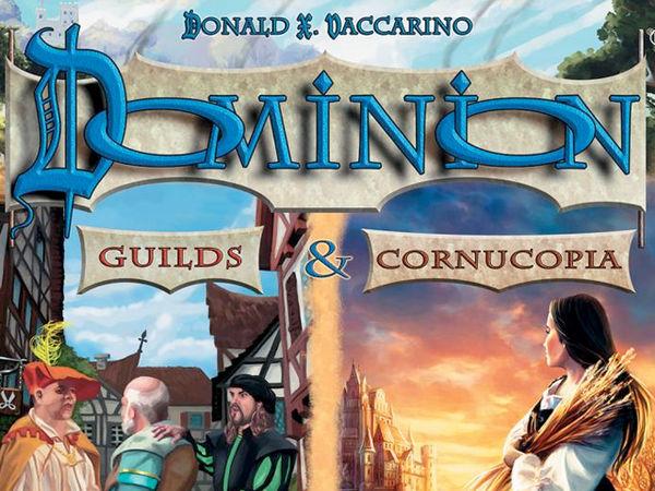 Bild zu Alle Brettspiele-Spiel Dominion: Guilds & Cornucopia