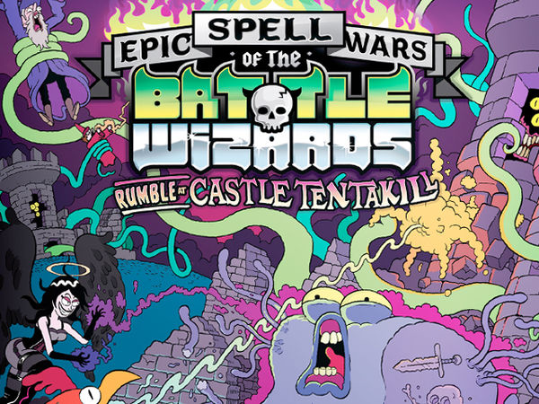 Bild zu Alle Brettspiele-Spiel Epic Spell Wars of the Battle Wizards: Rumble at Castle Tentakill