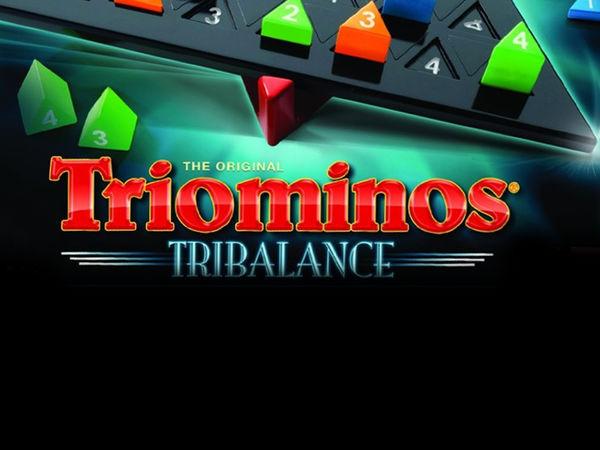Bild zu Alle Brettspiele-Spiel Triominos Tribalance